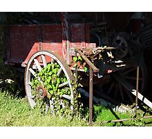 Farm Wagon Photographic Print