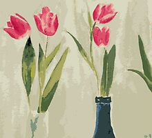 Tulips by EvelynR