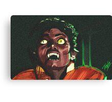 Thriller Night Canvas Print