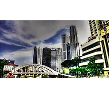 Urban Landscape Singapore Photographic Print