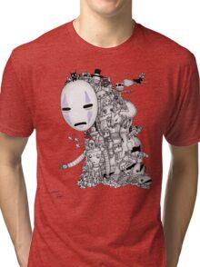 Hayao Miyazaki Tribute #2 Tri-blend T-Shirt