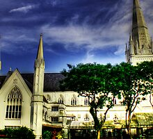 Urban Landscape Singapore, St. Andrews Catheral by William  Teo Photography
