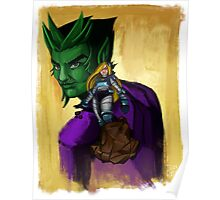 Terra-forming With Beast boy Poster