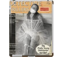 Detective Trillers Magazine February iPad Case/Skin