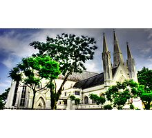 St. Andrews Cathedral Singapore Photographic Print