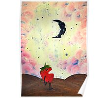 Mister Strawberry Cries at the Moon Poster