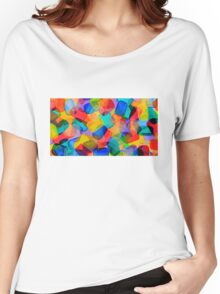Funky Dots Women's Relaxed Fit T-Shirt