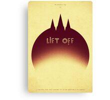Lift Off Canvas Print