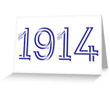 1914 - ΦΒΣ Year Tee Greeting Card