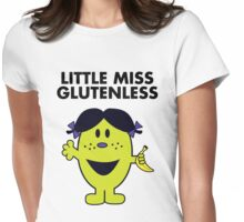 Little Miss Glutenless Womens Fitted T-Shirt