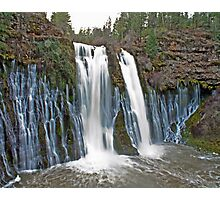 Burney Falls HDR Photographic Print