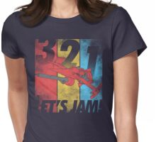 Let's Jam! Womens Fitted T-Shirt