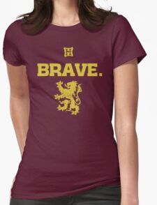 Gryffindor. Brave. Womens Fitted T-Shirt
