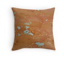 """Inland Ocean"" Throw Pillow"