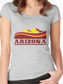 Arizona Desert Women's Fitted Scoop T-Shirt