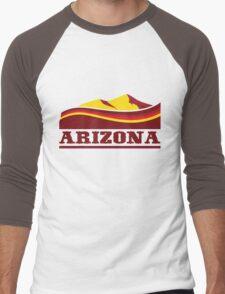 Arizona Desert Men's Baseball ¾ T-Shirt