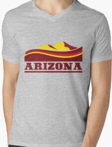 Arizona Desert Mens V-Neck T-Shirt