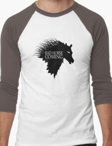 Bad Horse is Coming Men's Baseball ¾ T-Shirt