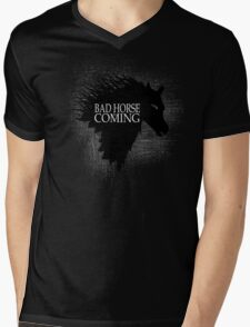 Bad Horse is Coming Mens V-Neck T-Shirt