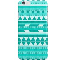 Mint Aztec  iPhone Case/Skin