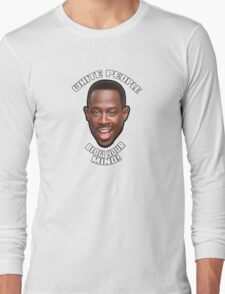 White People Blow Your Mind! (small) Long Sleeve T-Shirt