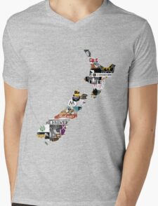 NZ Craft Beer Mens V-Neck T-Shirt