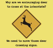 Move the Deer Crossings by TRStrickland