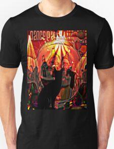 the black cat dance party T-Shirt