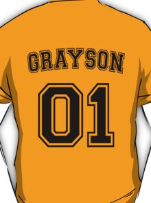 Dick Grayson Sports Jersey T-Shirt