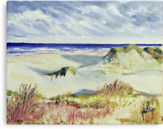 Sketching the Dunes by Jim Phillips