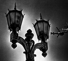 Chopper Lamp by Brendan Arthur Ring