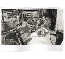 Joe - Vespa Repairs and Restorations Poster