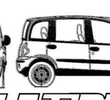 Fiat Multipla - Unconventional Icon Sticker