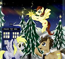 Derpy and Doctor Christmas by Starlet Nightwind