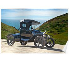 1915 Ford Model T Roadster Poster