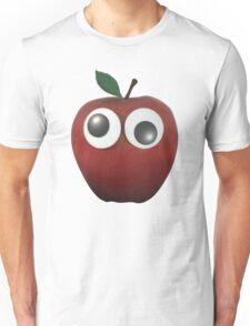 Googly-Eyed Apple Unisex T-Shirt