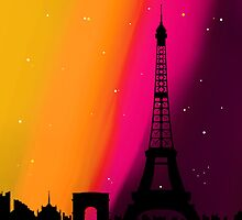 The Colours of Paris by ChloeJade