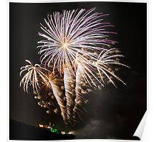 Fireworks at Whitley Bay Poster