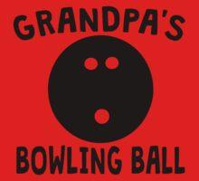 Grandpa's Bowling Ball One Piece - Short Sleeve
