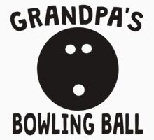 Grandpa's Bowling Ball Kids Tee