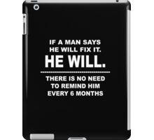 He Will iPad Case/Skin
