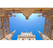 belem tower cloister. Photographic Print