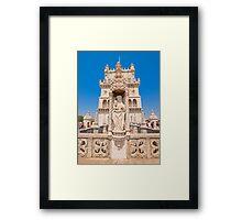 Sta Maria de Belém. Torre. Framed Print