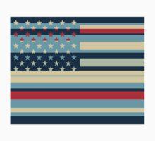 American Flag Pop Art 2 One Piece - Long Sleeve