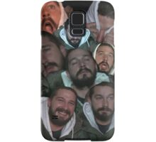 Shia Labeouf Cute Collage  Samsung Galaxy Case/Skin