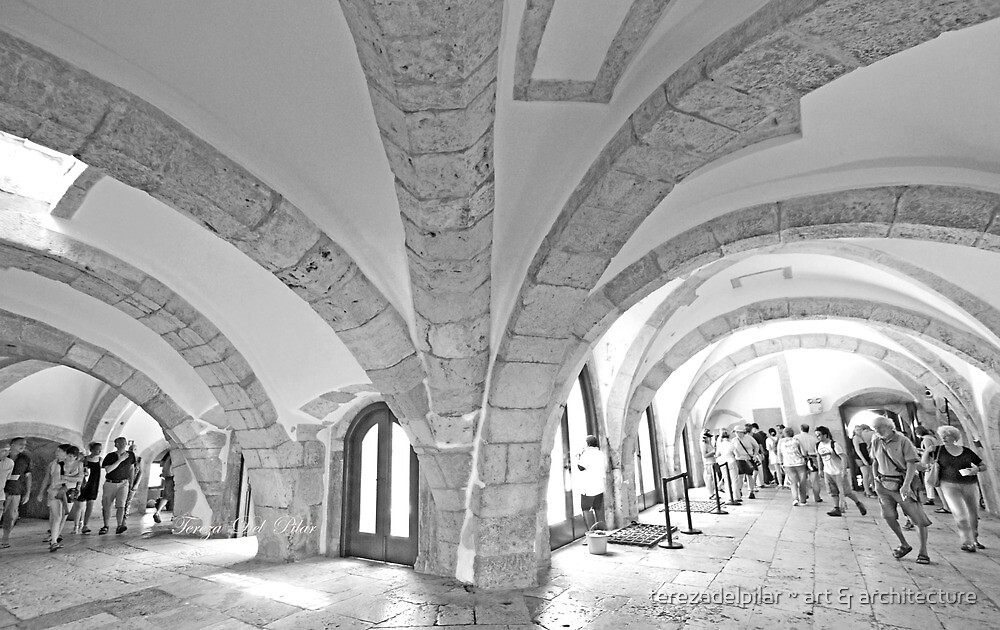 tower arches. by terezadelpilar ~ art & architecture