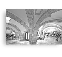 tower arches. Canvas Print
