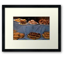 Goodies For  Sale At Mulberry Manor -Lyme Framed Print