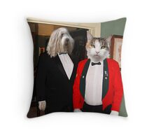 You are being a bit Catty today !!! Throw Pillow
