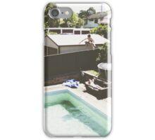 Pool Jump iPhone Case/Skin